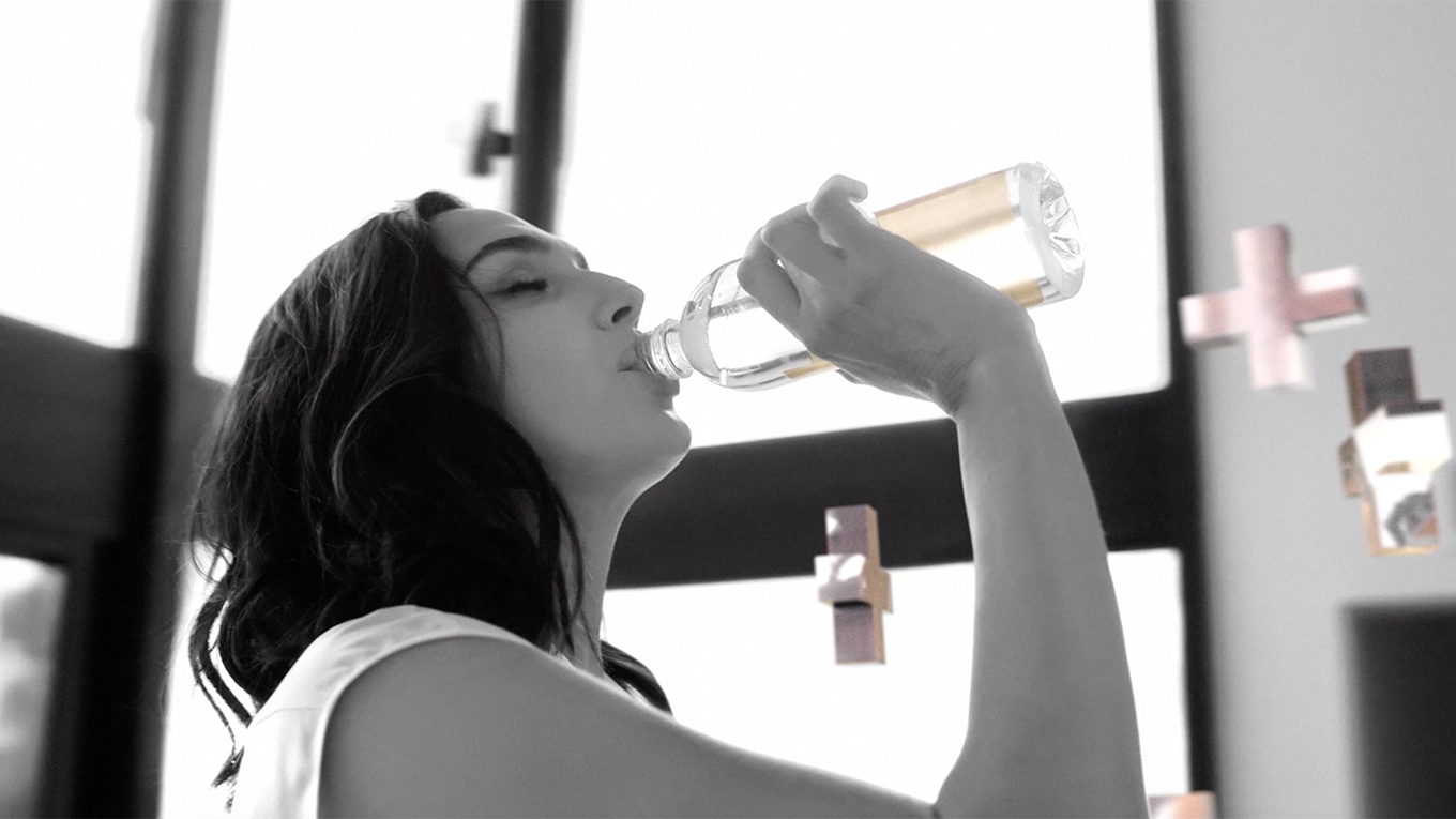 As the new face of Smartwater, Gadot is filling the role formerly held by Jennifer Aniston.