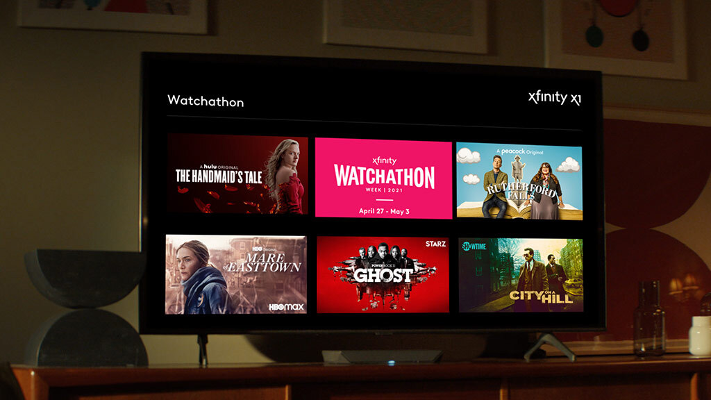 Xfinity X1 and Flex customers can stream the content for free from April 27-May 3.