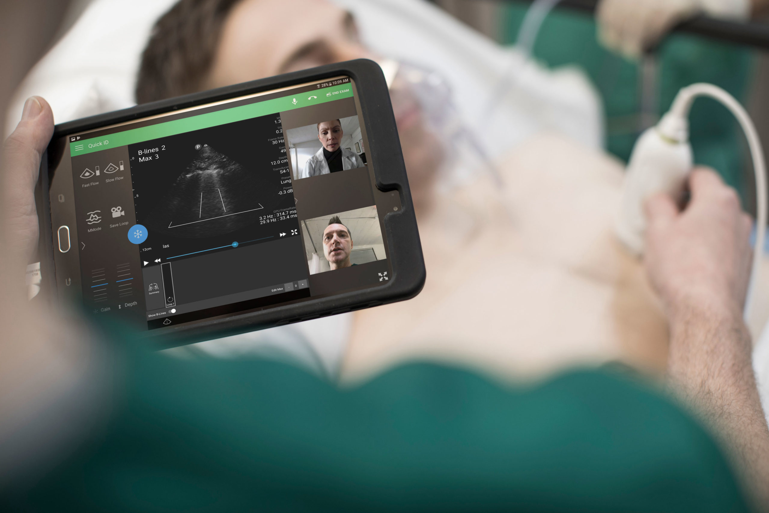 Philips Lumify with Reacts handheld tele-ultrasound solution