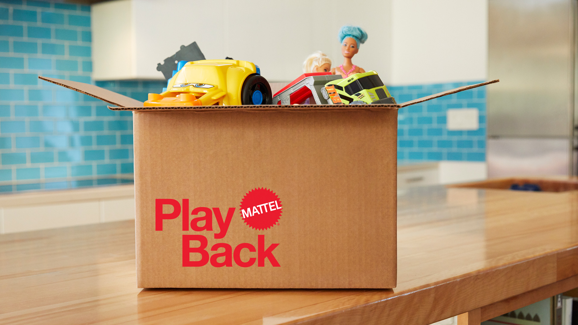 a box of toys that says PlayBack