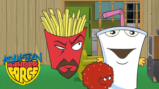 cast of aqua teen hunger force