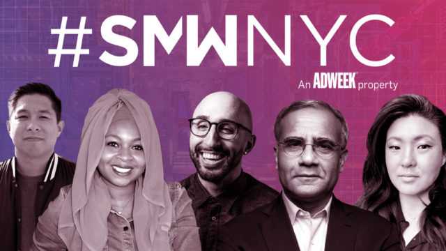 a collage of SMWNY speakers