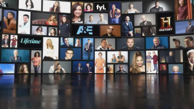 A+E Networks content has 9 billion video views annually across digital and social platforms.