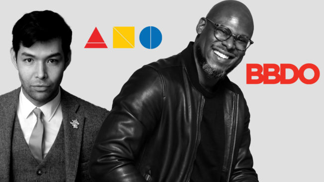 New York High School of Art and Design principal Max Re-Sugiura and BBDO chief diversity, equity and inclusion officer Jason Rosario