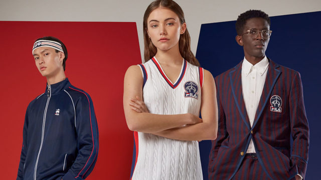 Photo from the Fila and Brooks Brothers collaboration