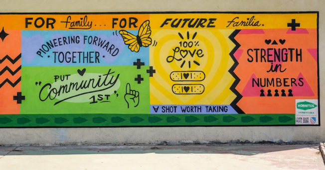 Photo of a mural