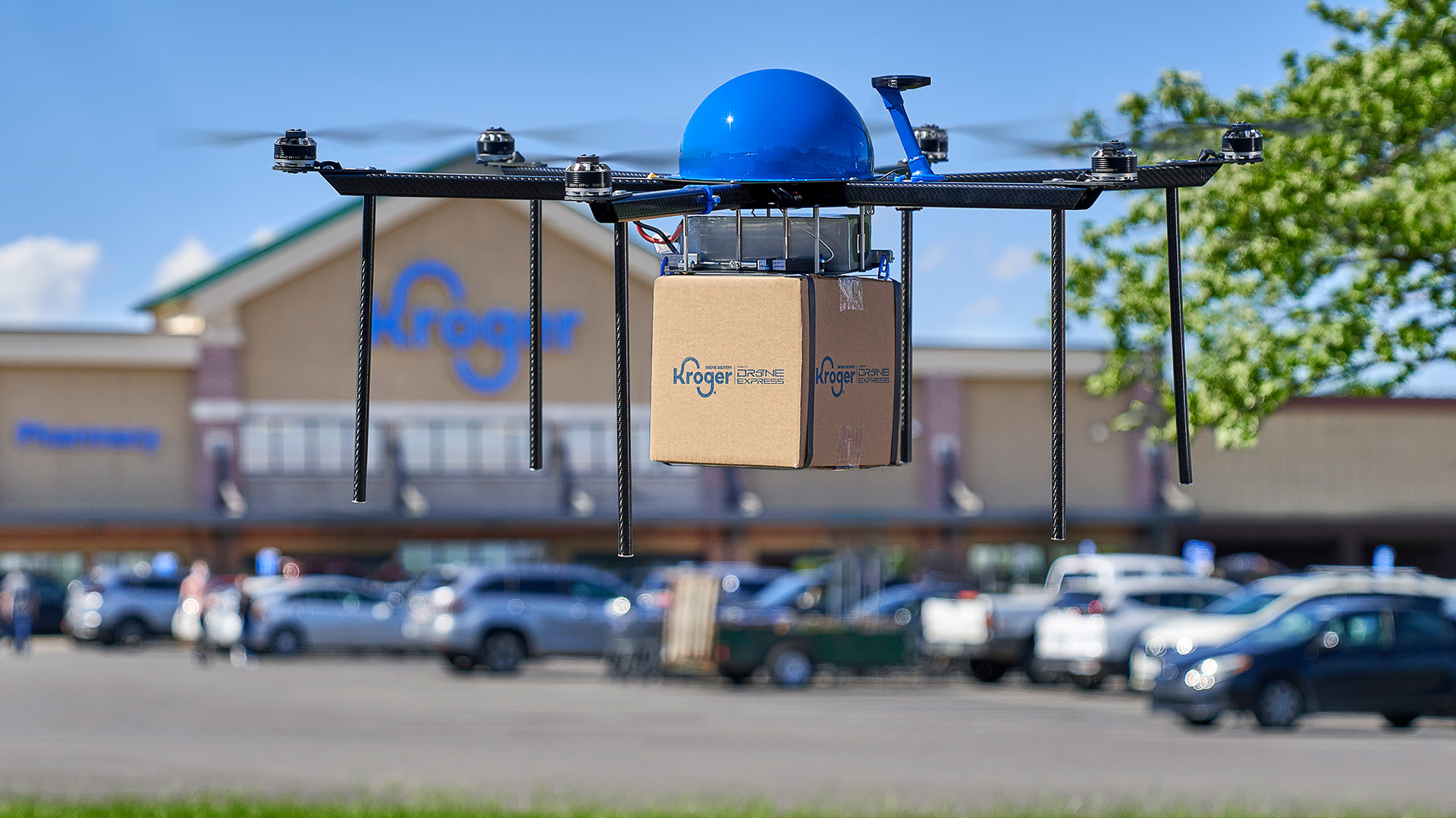 The retailer has partnered with Drone Express for pilot tests of the technology.