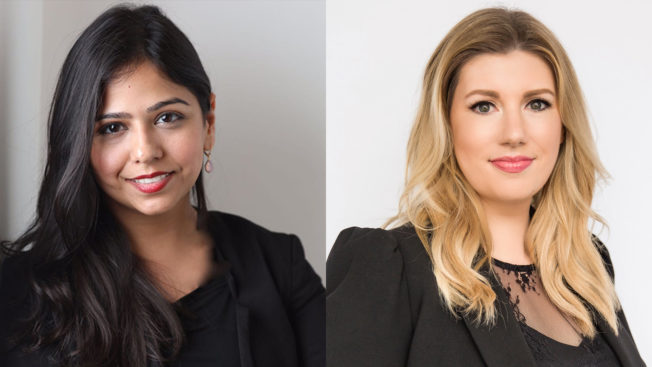 PMG's director of strategic planning and consumer insights Shelina Taki (left) and head of strategic planning and insights Angela Seits (right)