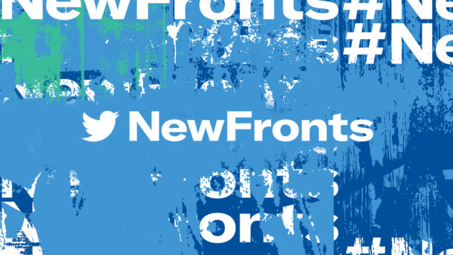 Twitter emphasized live content and new partnerships at NewFronts.