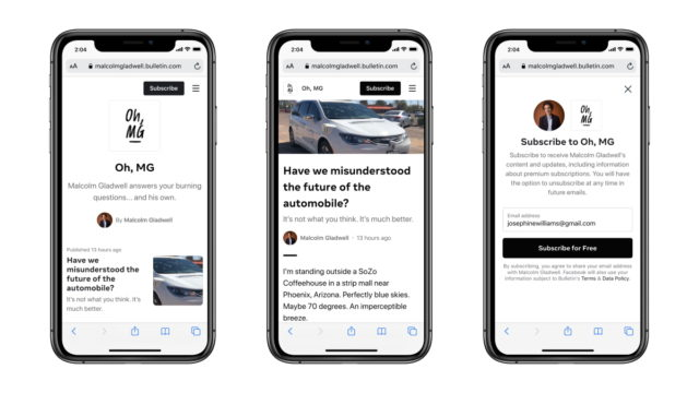 Everything You Need to Know About Bulletin, Facebook's Platform for Independent Writers