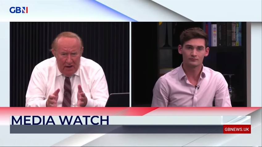 Andrew Neil hosts another segment on GB News