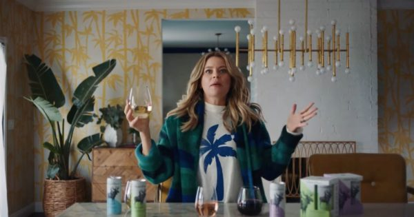 Elizabeth Banks Stars in New Ad for Luxe Canned Wine Brand