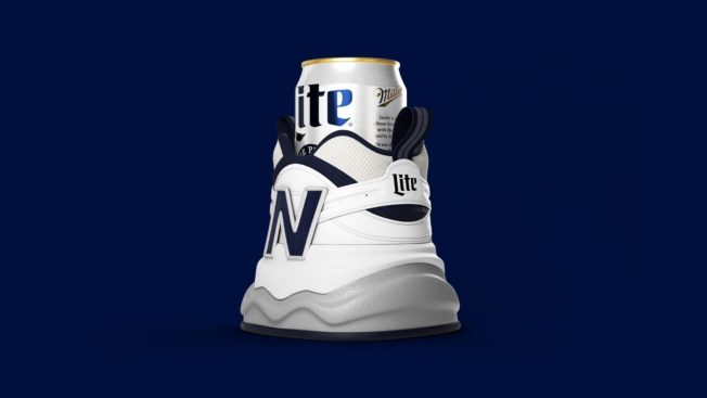 Miller Lite and New Balance reveal the Shoezie