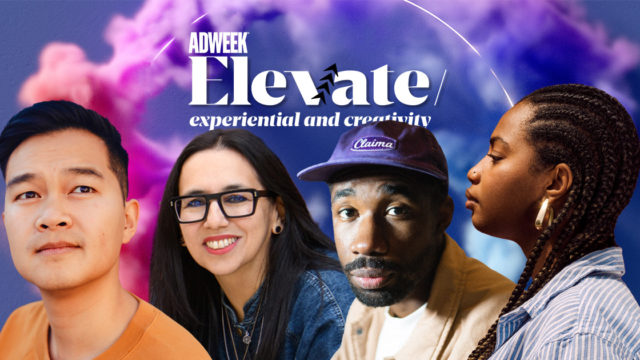 collage of Elevate: Experiential and Creativity speakers