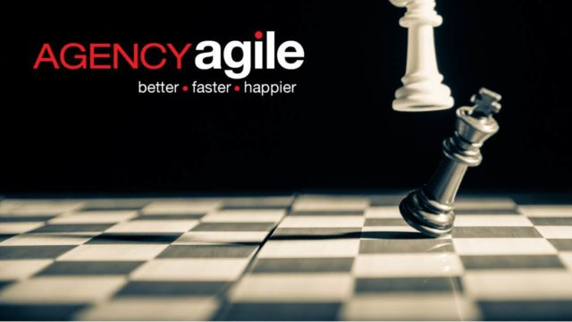 AgencyAgile logo with chess pieces