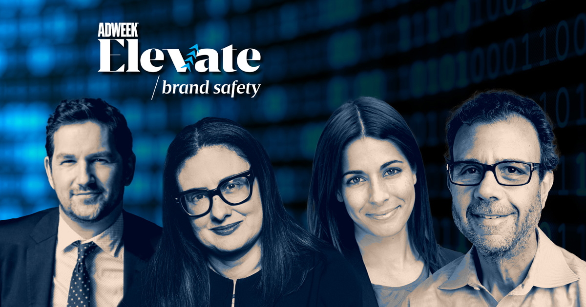 collage of Elevate: Brand Safety speakers