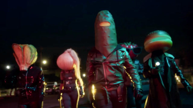 Anthropomorphized burger toppings featured in Burger King's latest ad campaign