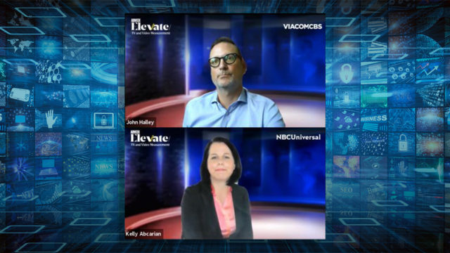 viacomcbs and nbcu at Elevate TV
