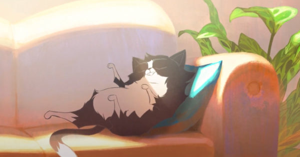 Cat Remembers Finding Forever Home in French Animated Spot for Animal Shelter
