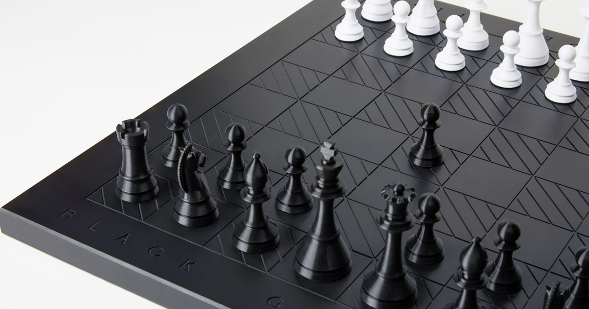 Anomaly's one-of-a-kind chessboard