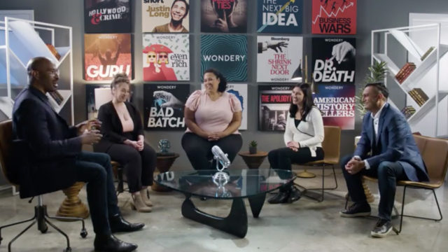 podcast community panel at adweek at home