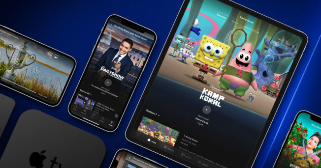 Streaming content available on Paramount+
