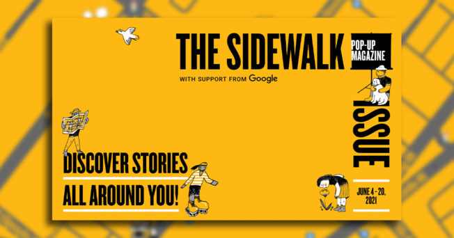 Pop-Up Magazine launched its Sidewalk Issue in three cities last week