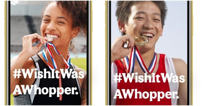 Burger King Cracks the Mystery of why Athletes Bite Their Medals