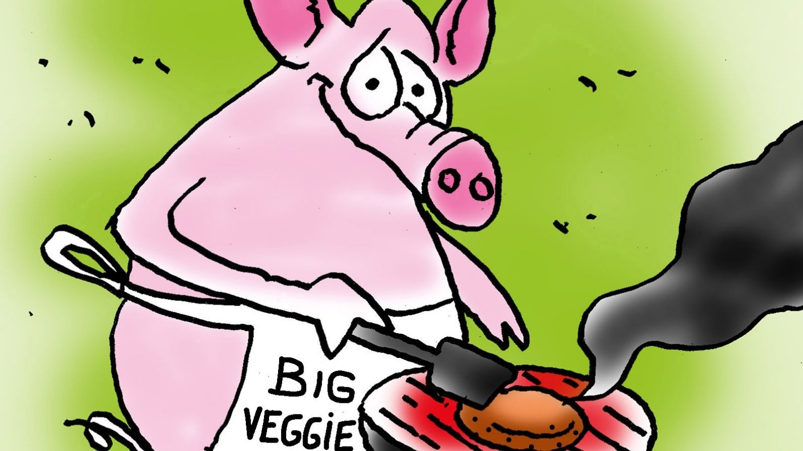 This Plant-Based Meat Alternative's Cartoon Series Questions Morality of Eating Animals