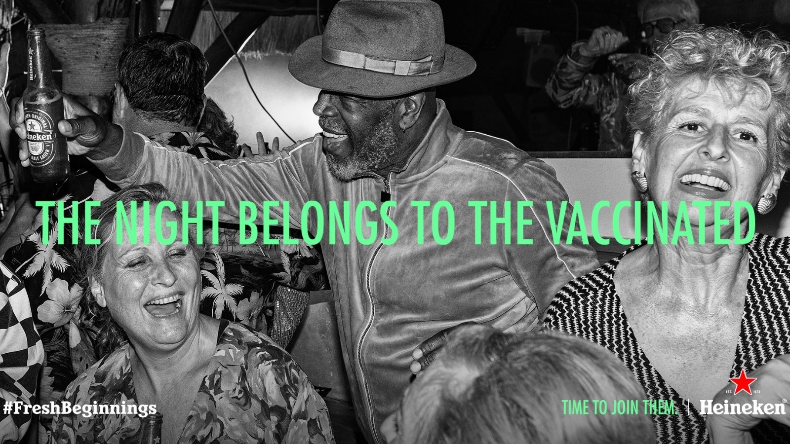 The Old Are Young Again, Heineken Shows What Vaccinated People Get up to at Night