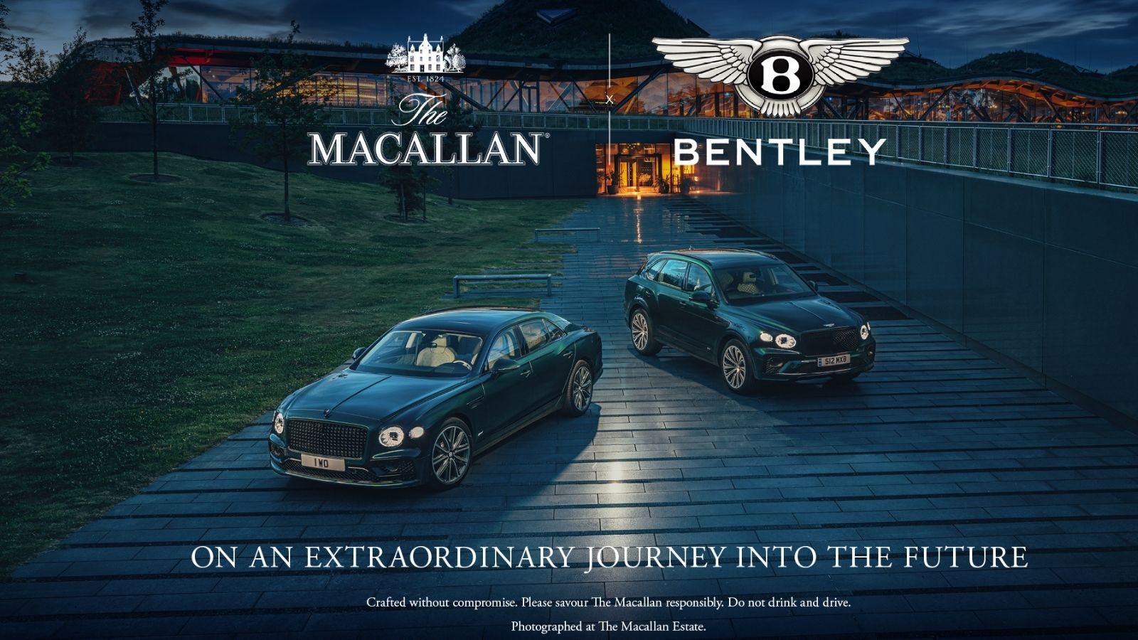 Bentley Motors and The Macallan Whisky Form Sustainable Luxury Experience Partnership