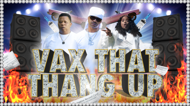 A bedazzled parody of Cash Money Records album covers