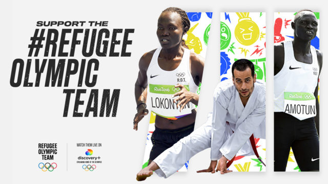 refugee olympic team ad