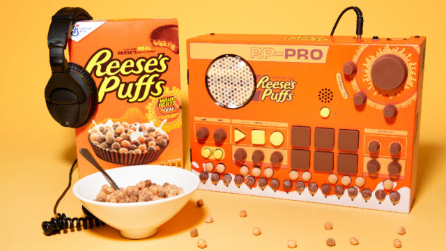 A Reese's-inspired beatbox