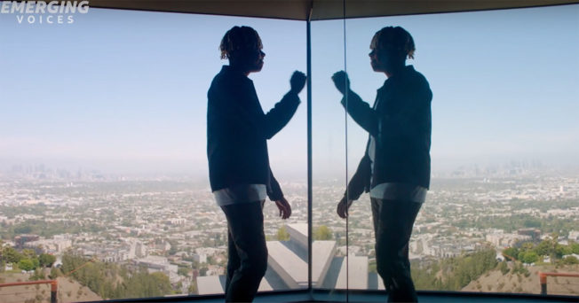 AT&T and Cordae Explore How Technology Feeds Creativity With Emerging Voices Initiative