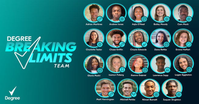 #BreakingLimits' lineup of athletes