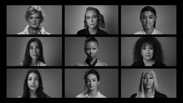 Grid of HBO Max actresses