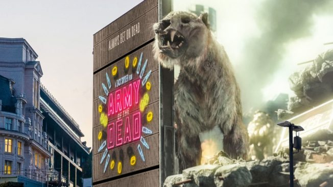 3D Outdoor Ads Come to Europe Featuring Zombie Tigers and Oversized Rugby Balls