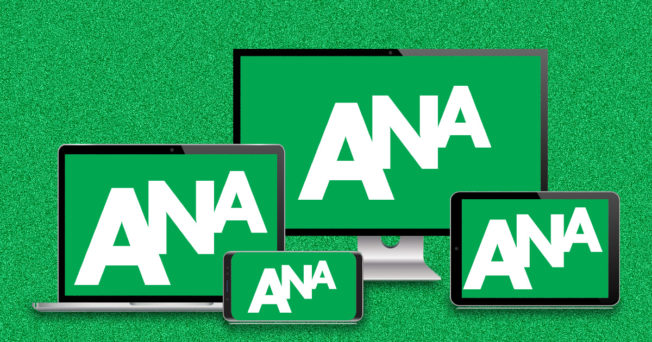 association of national advertisers initials on screens