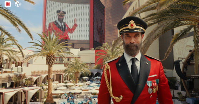 Captain Obvious in the new Resorts World Las Vegas ad