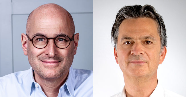 Stephan Beringer, CEO of Mirriad and Dominik Wichmann, CCO and Co-Founder of Looping Group