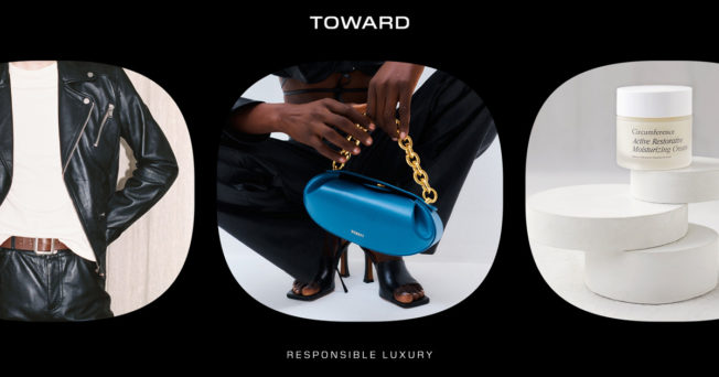 a person holding a blue purse