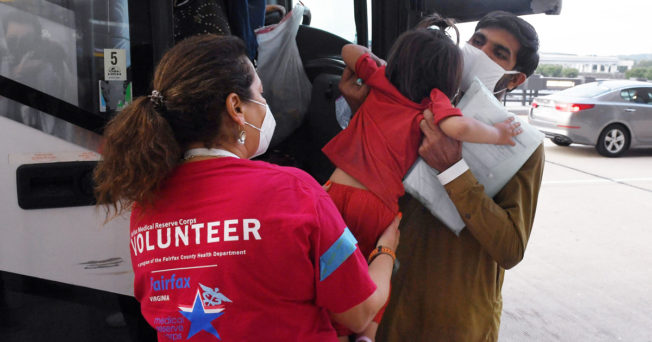 Volunteers help move US citizens and refugees out of Afghanistan