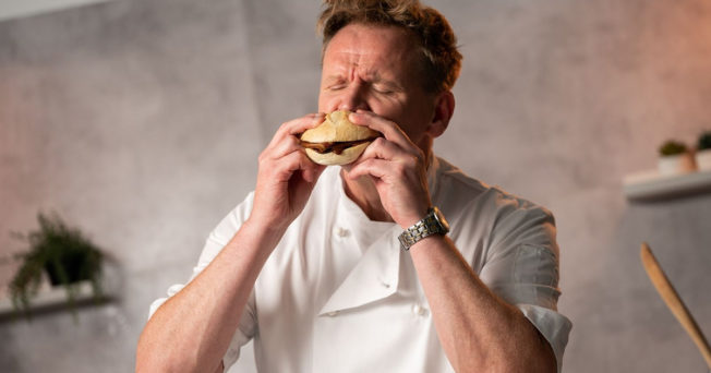 Costa Coffee Aims to Fake it With Gordon Ramsey Lookalike's Vegan Bacon Bap Review