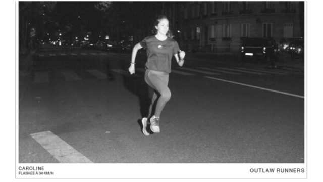 This Running Brand Hijacked Speed Cameras to Shoot a Guerrilla Ad Campaign
