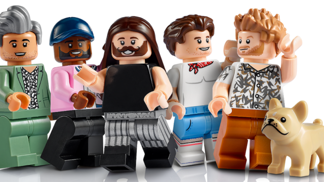 Lego versions of Queer Eye's Fab 5