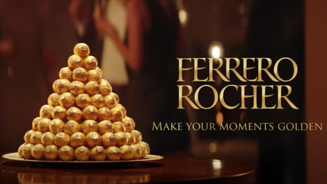 Ferrero Rocher products and logo