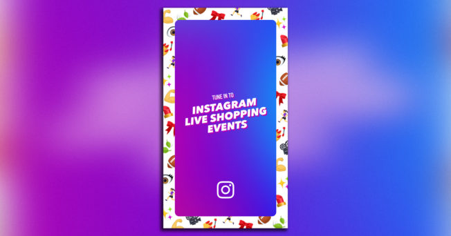 Instagram Live Shopping Event