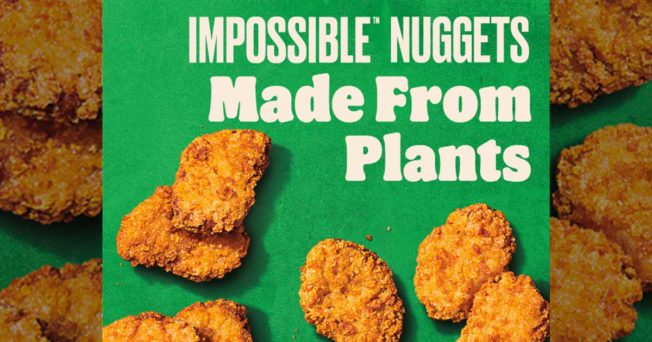 Burger King Impossible Nuggets