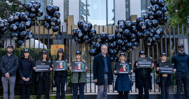 Press Freedom Organization Releases Campaign to Wish Russian President an Unhappy Birthday